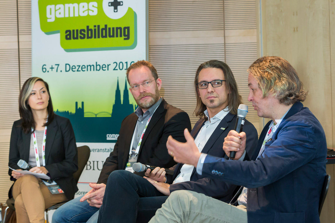 "Kongress ""Games & Ausbildung 2016"" Diskussion"